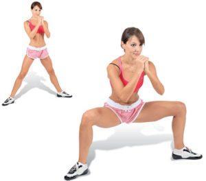 Как в домашних условиях сделать бедра шире, упражнения для увеличения