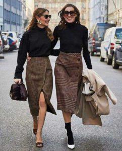 Модные новинки красивых шифоновых юбок 2019 года и с чем их носить
