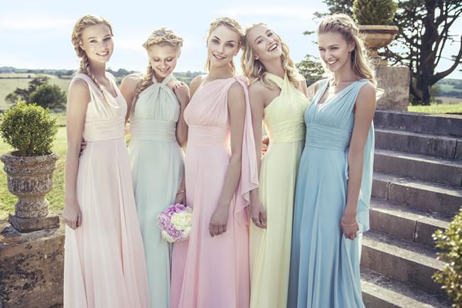 модные коктейльные платье