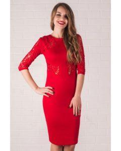 Красивые и модные модели трикотажных платьев и с чем их носить