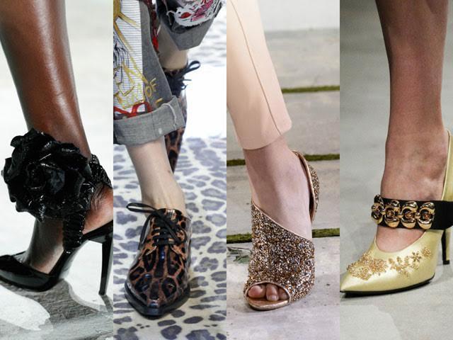 туфли модные с ремешками