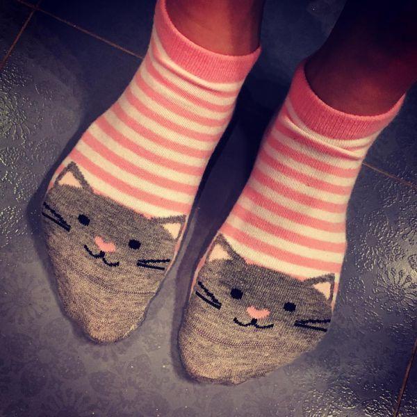 Яркие прикольные носочки