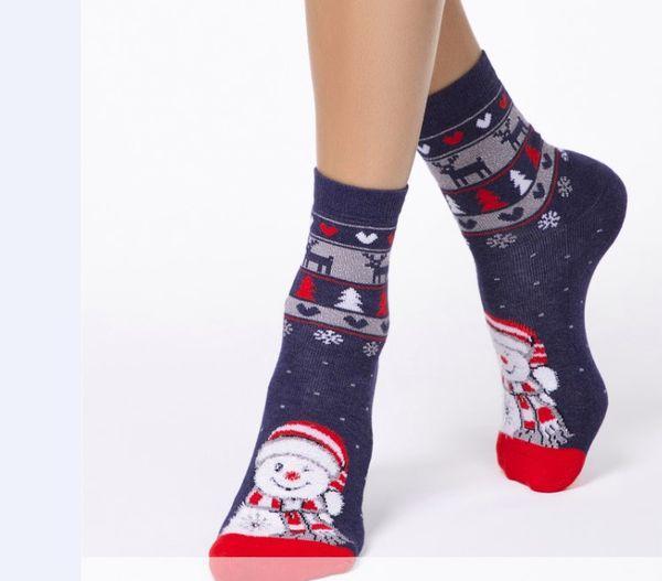 Новогодние носки