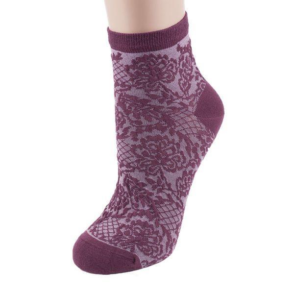 Женские носки с узорами