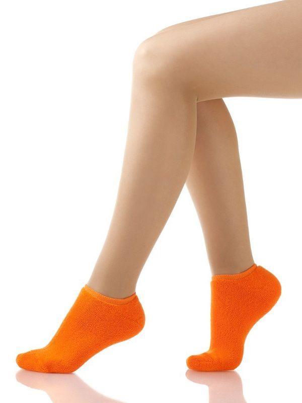 оранжевые носки