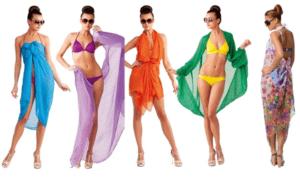 Модные тенденции и красивые модели парео для пляжа 2019 года