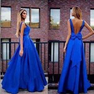 Красивые модели платьев с открытой спиной, правила выбора и как их носить