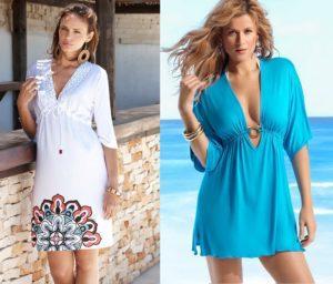 Лучшие фасоны пляжных платьев, стильные и модные новинки