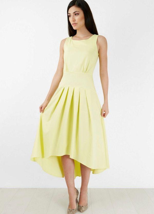 Длинные платья с заниженной талией