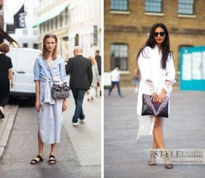 Красивые и модные модели платьев типа рубашка, с чем носить и как выбрать