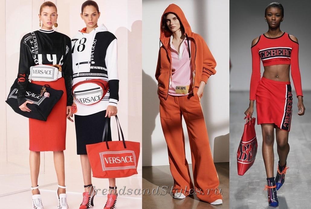 модная одежда Versace