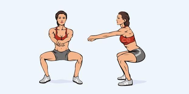 упражнение для попы