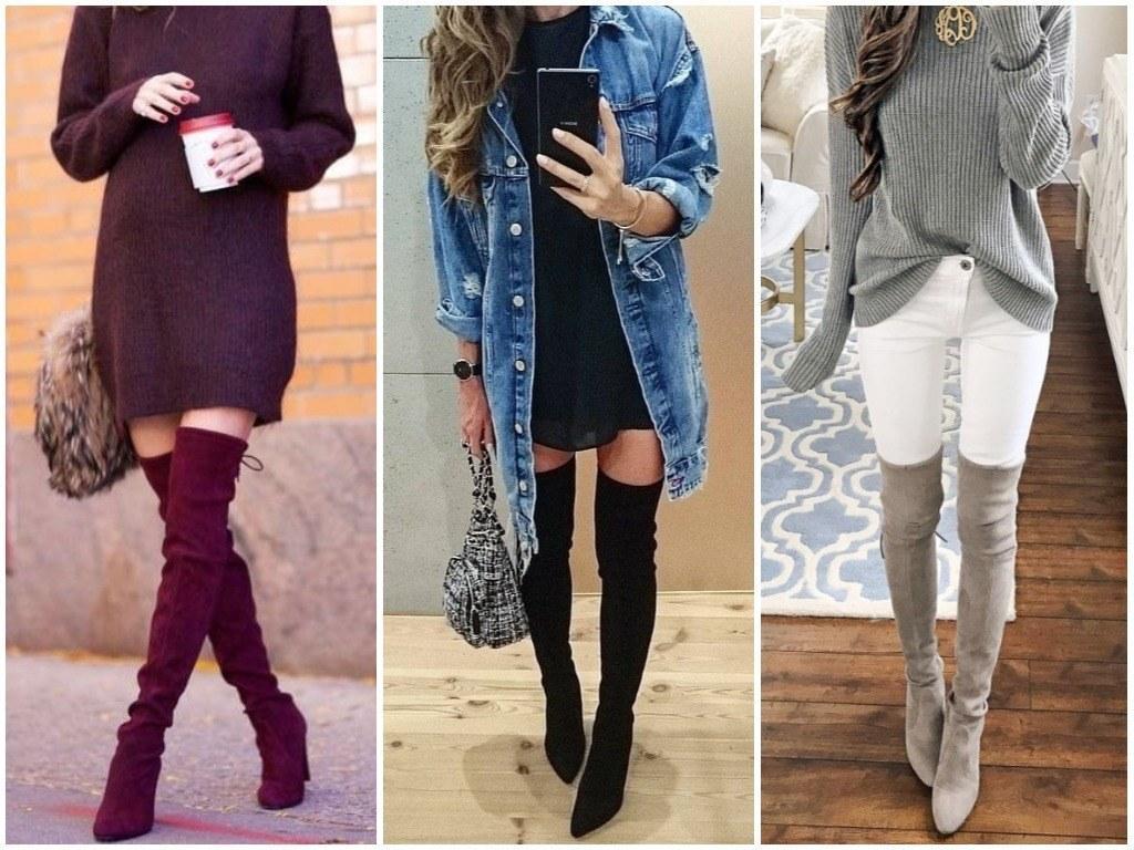 ботфорты красивые и модные