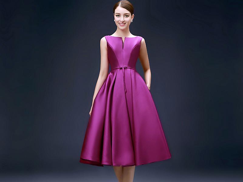 пышные платья Атласное