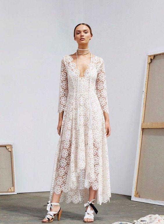 платье сруковами
