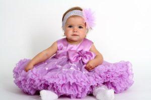 Нарядные и красивые платья на годик девочке, лучшие модные образы