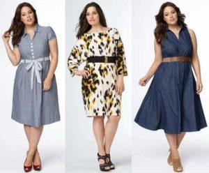 Стильные модели одежды для полных женщин и особенности больших размеров