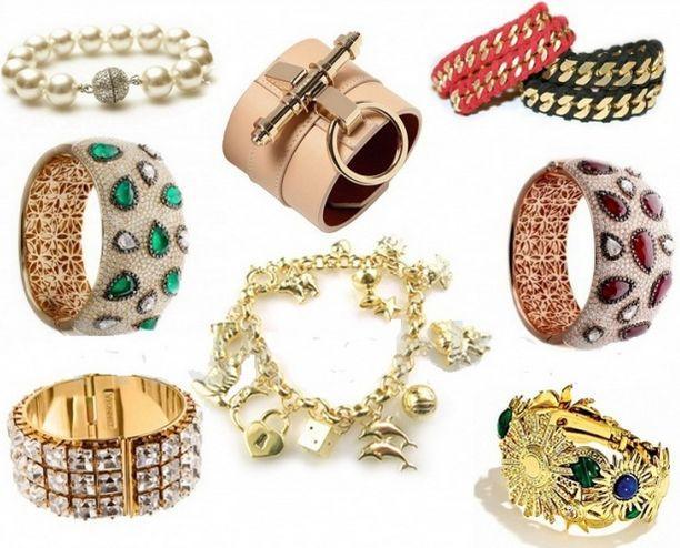 разные браслеты