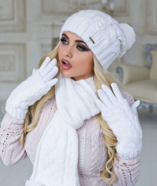 белая шапка