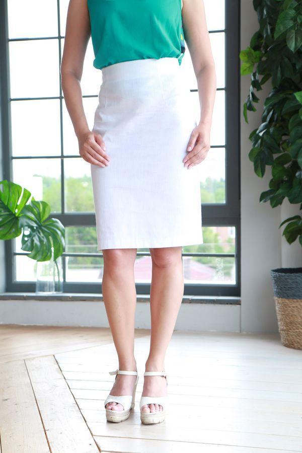 юбка до колена