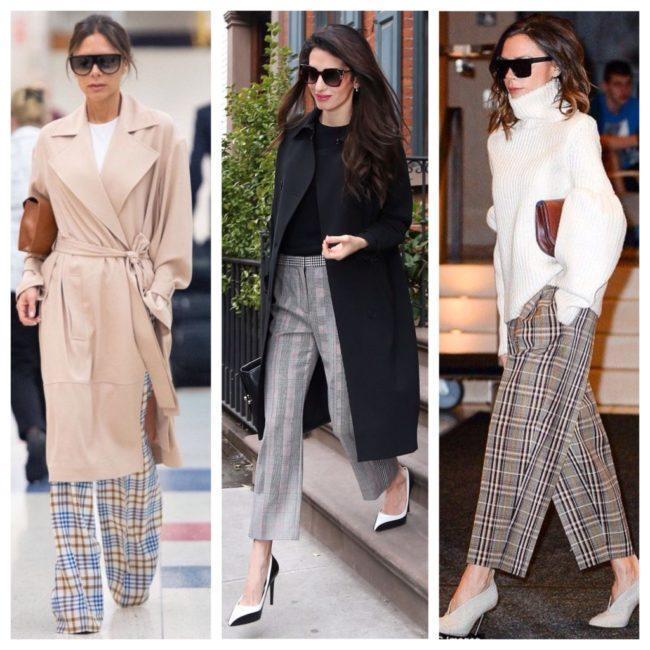 С чем лучше носить женские брюки в клетку и обзор стильных луков