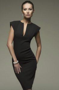 С чем носить вечернее, классическое и маленькое платье черного цвета