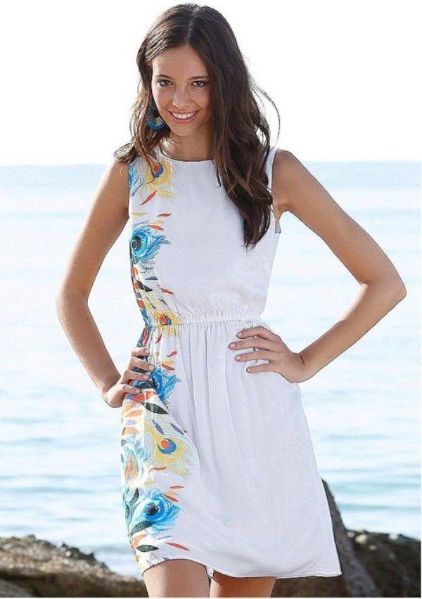 платье в пляжном стиле