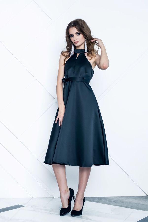 Изысканное платье с американской проймой