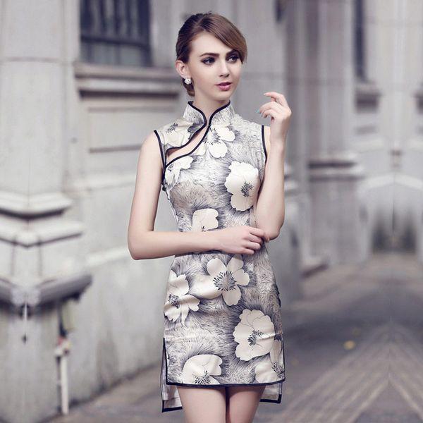 Платье-ципао