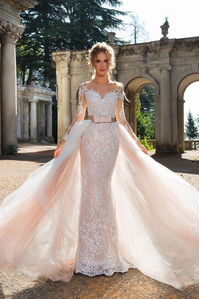 Красивые фасоны свадебных платьев в стиле рыбка и как выбрать лучшую модель