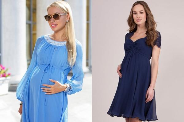 платье шифон для беременной