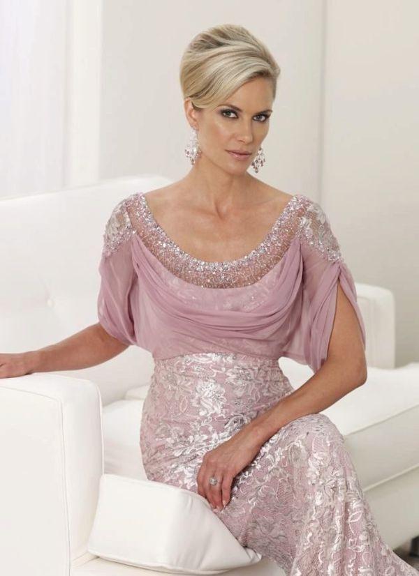 розовое платье с стразами