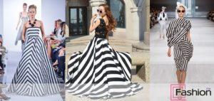 Лучшие фасоны и модели платьев в полоску, с чем их носить