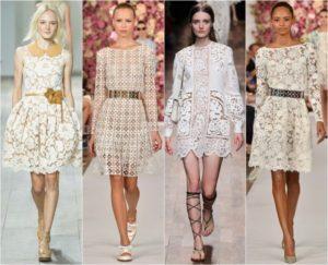 Лучшие модели кружевного платья, критерии выбора и с чем носить
