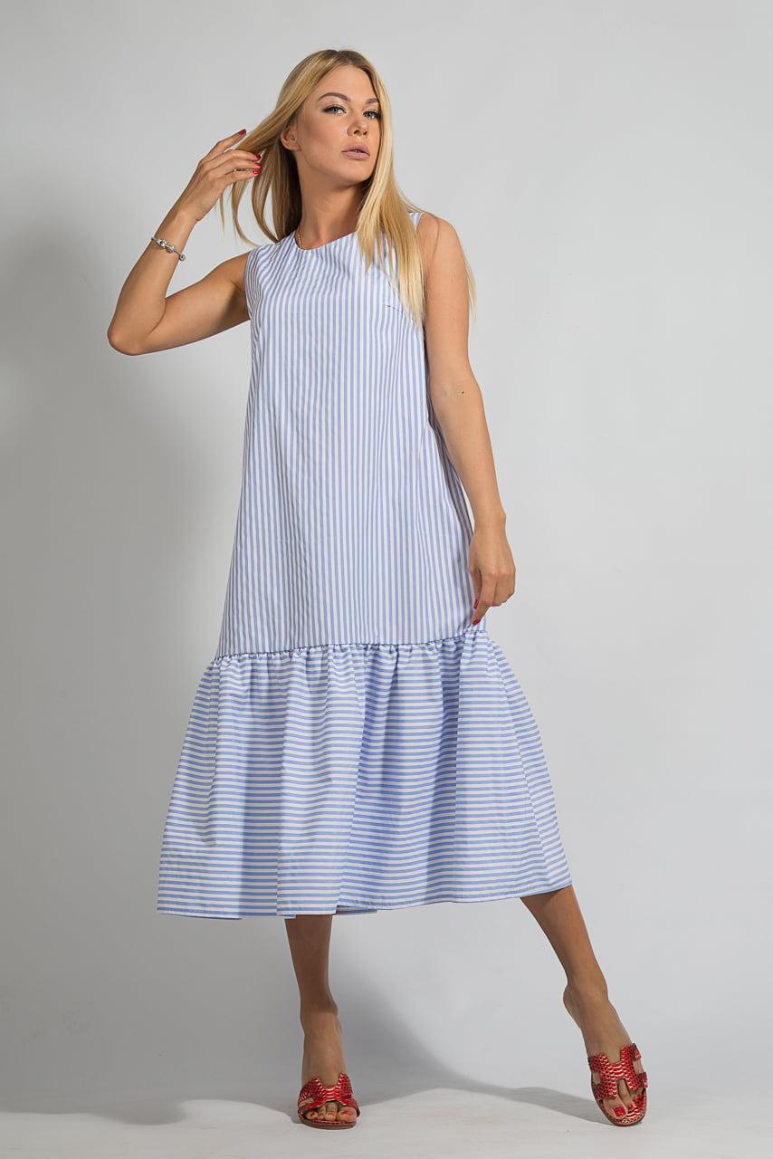 Как сшить платье с воланами : Другое: Проей