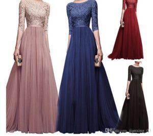 Красивые модели платьев из шифона и с чем носить такой фасон
