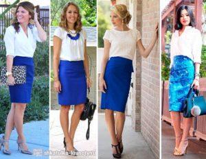 Модные модели и фасоны прямых юбок, с чем носить и красивые образы