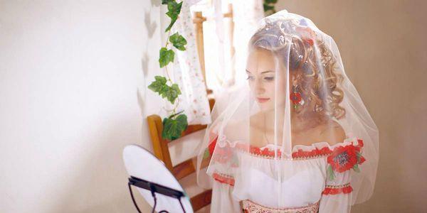 платье русский стиль