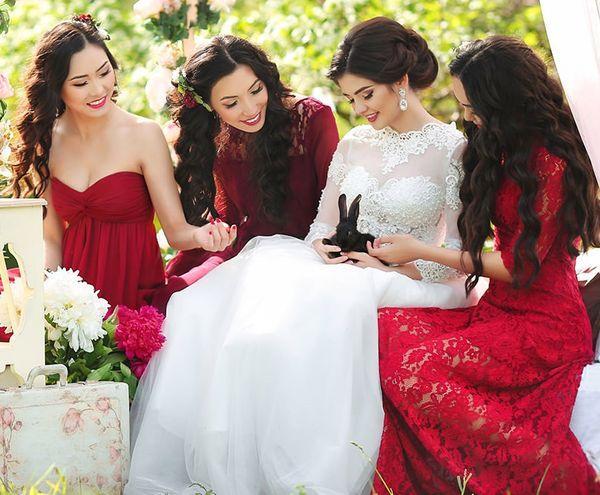 Новинки свадебных образов
