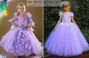 Красивые модели вечерних платьев для девочек и обзор стильных образов
