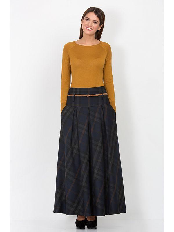 зимняя юбка болонья