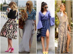 Трендовые модели длинных юбок с разрезом, как выбрать и советы стилистов