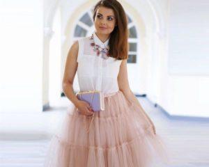 Модные модели юбок из фатина и с чем их лучше носить, советы стилистов