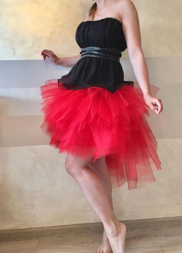 юбка со шлейфом