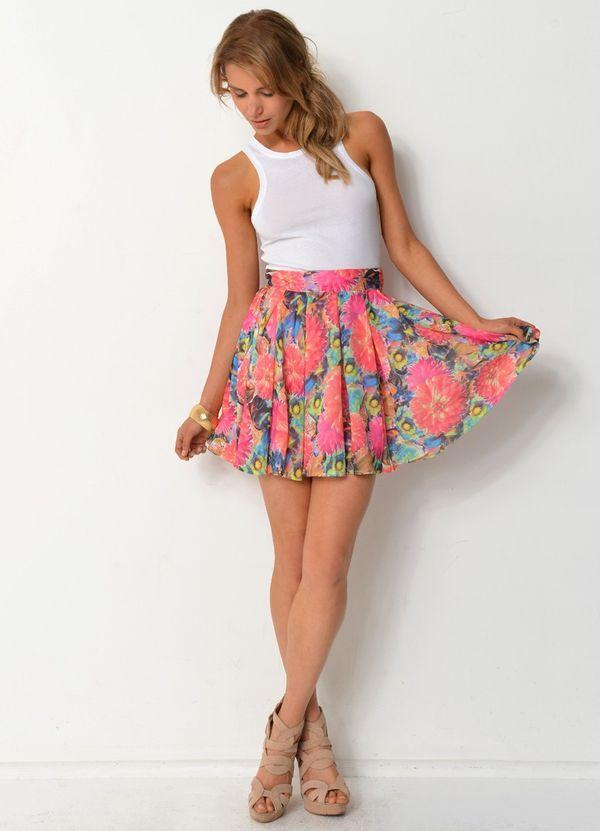 юбка полусолнце