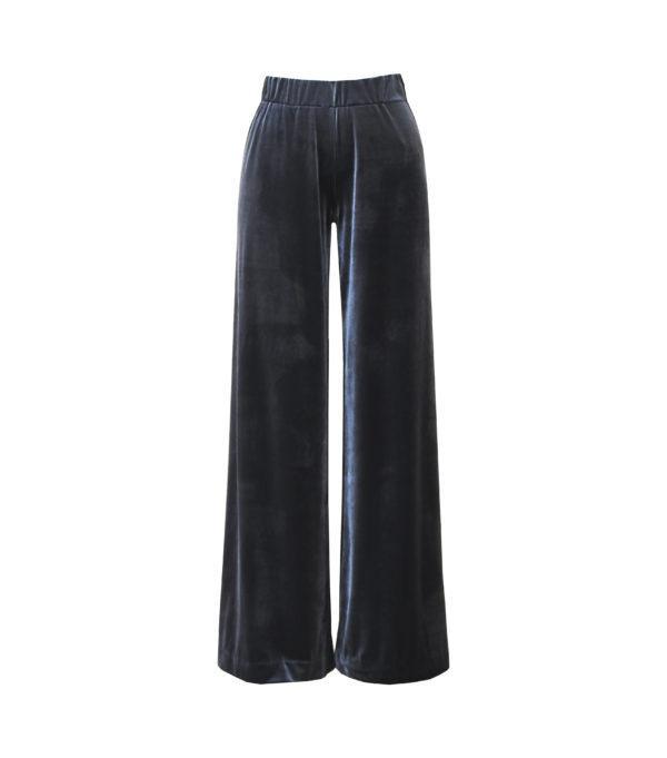 брюки из бархата