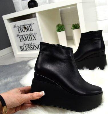 Красивые модели женских ботинок на платформе, как они называются и с чем носить