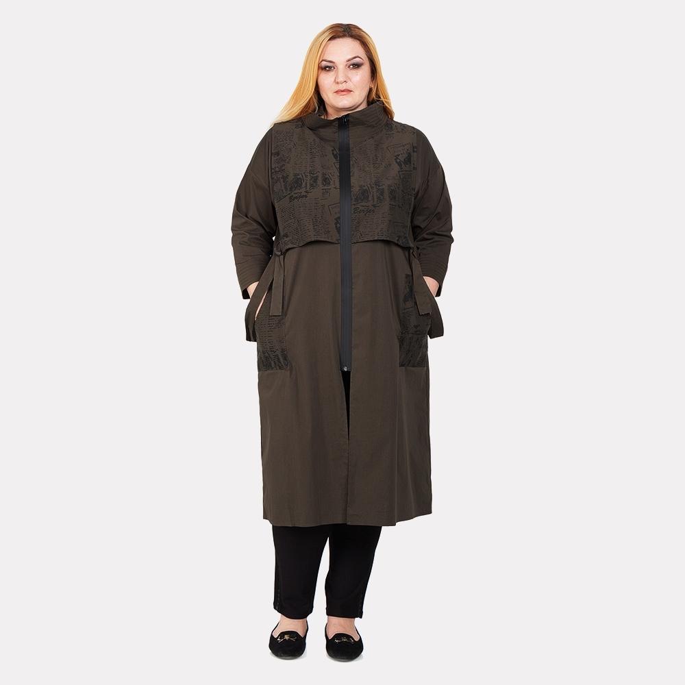 пальто большое
