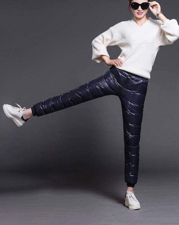 Популярные модели женских утепленных брюк на зиму, бренды и стильные образы