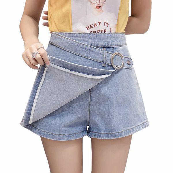 Джинсовые шорты юбки